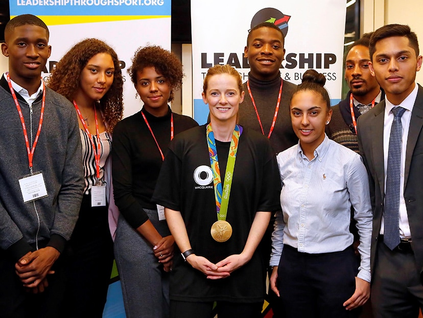 During 2017 Foundation Week, London staff held a cycling challenge with Helen Richardson-Walsh, Olympic gold medal hockey player
