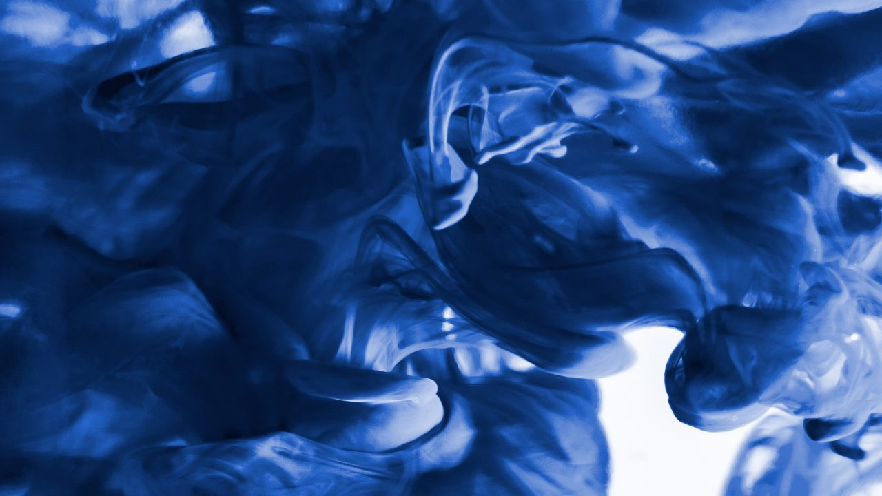 Dark blue and white abstract