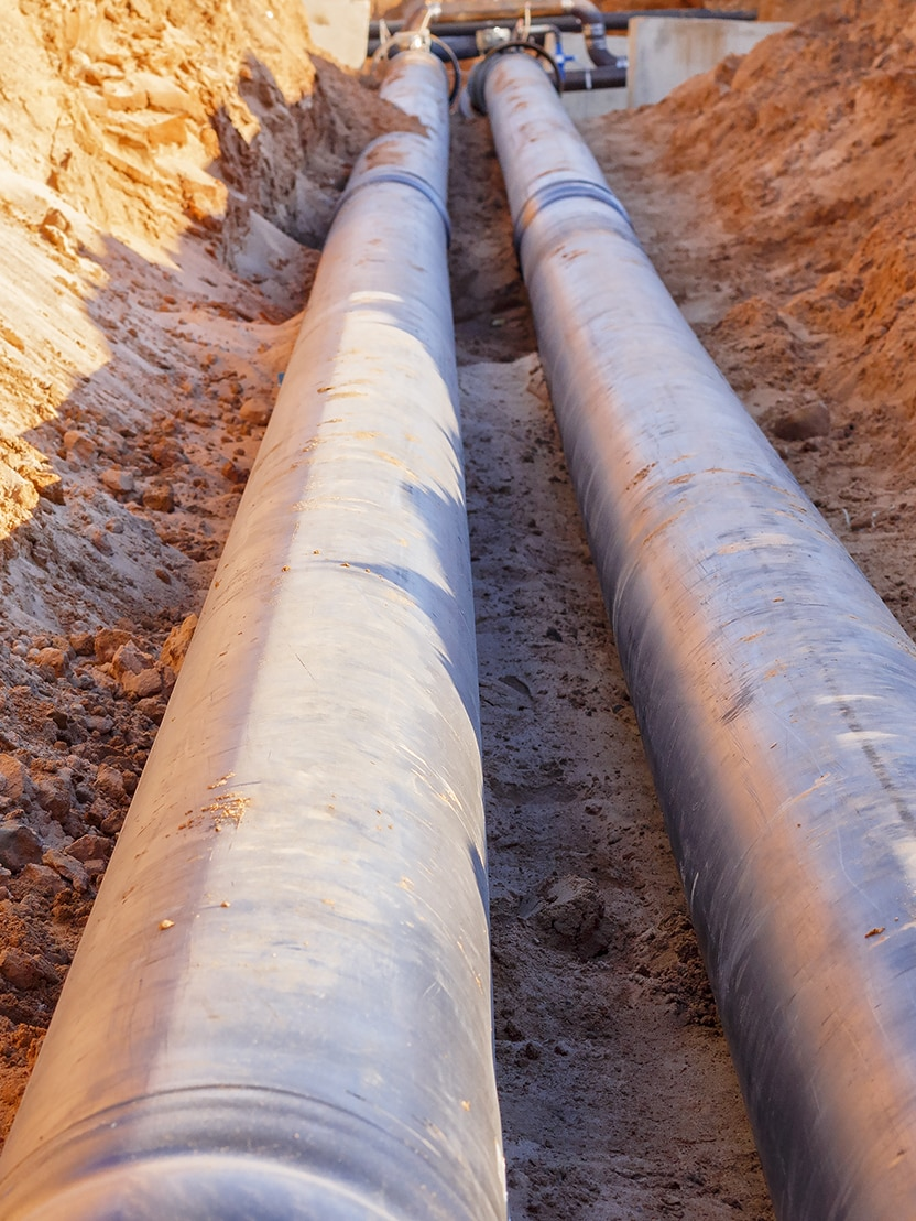 Installation of pipeline