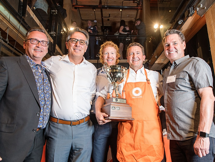 Calgary staff hosted over 400 people at the Annual Shuck off and Seafood Feast held during Foundation Week 2017